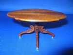 264. Victorian Carved Leg Table